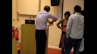 prof evans dances in a bsms embryology lecture