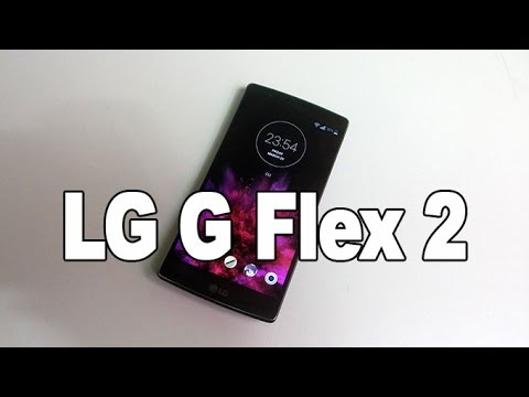 LG G Flex 2 Hands on Review [Greek]