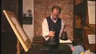 как работает печатный станок Гуттенберга