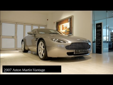 2007 Aston Martin Vantage V8 Youtube