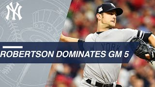 David Robertson dominates in scoreless relief in ALDS Game 5