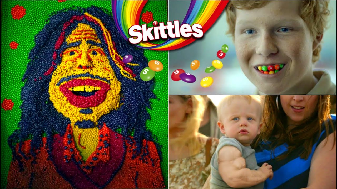 Download Funny Taste The Rainbow Commercials.