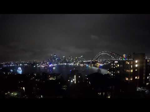 Sydney NYE 2018 from Lou and James' Party Palace