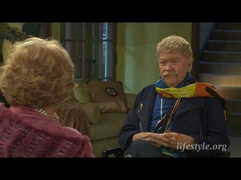 Rip Taylor talks about beginning his comedy career with Ruta Lee for Lifestyle Magazine