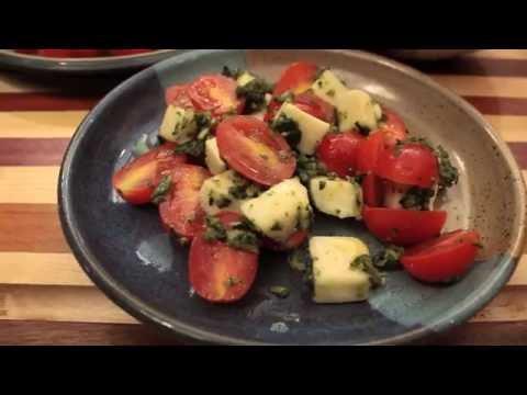 Homemade Pesto (60 Second Video) // Nan Kelley
