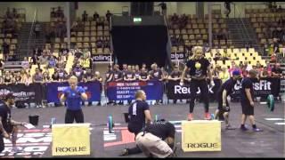 Oxana Slivenko - Reebok CrossFit Regionals 2013 - Event 5