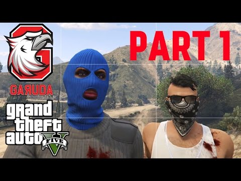 Part 1 - Begal Pesawat [ GTA V ONLINE PC INDONESIA ] - Prison Break Heist