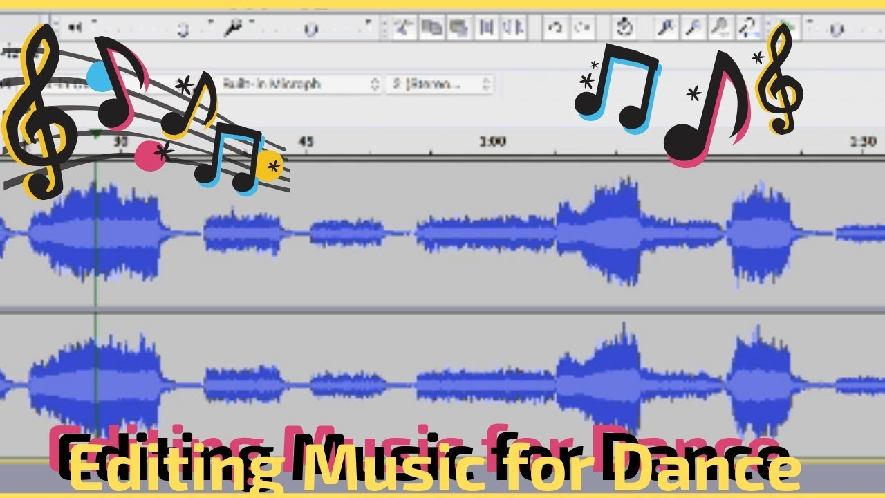 Editing Music For Dance Routines Using Audacity Youtube