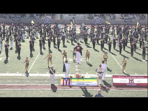 Mercer Island High School and Banda Escolar de Guayanilla - 2019 Pasadena Bandfest