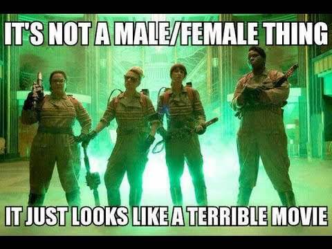 Ghostbusters Remake NOT Nominated for Razzies! WTF?