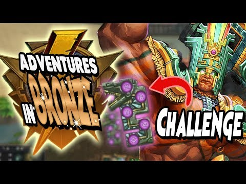 Smite: Adventures in Bronze Duel - Chaac Vs. Cernunnos - THE PASSIVE CHALLENGE FAILED?