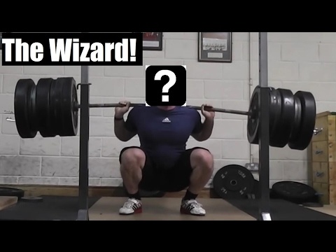 MY NEW WEIGHTLIFTING COACH...THE WIZARD (REVEALED)!
