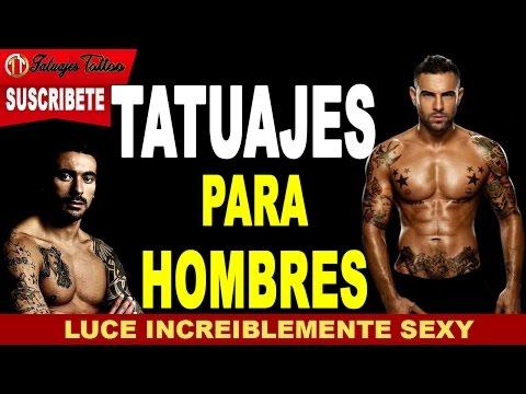 Tatuajes para Hombres INCREIBLEMENTE Sexys y Elegantes en los brazos, piernas, pechos, cuello, dedos