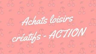 Haul Action : présentation de mes achats scrapbooking