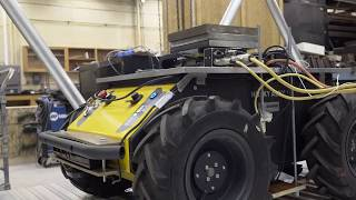 Autonomous Vibration Control of Bridge Using Husky UGV - Clearpath