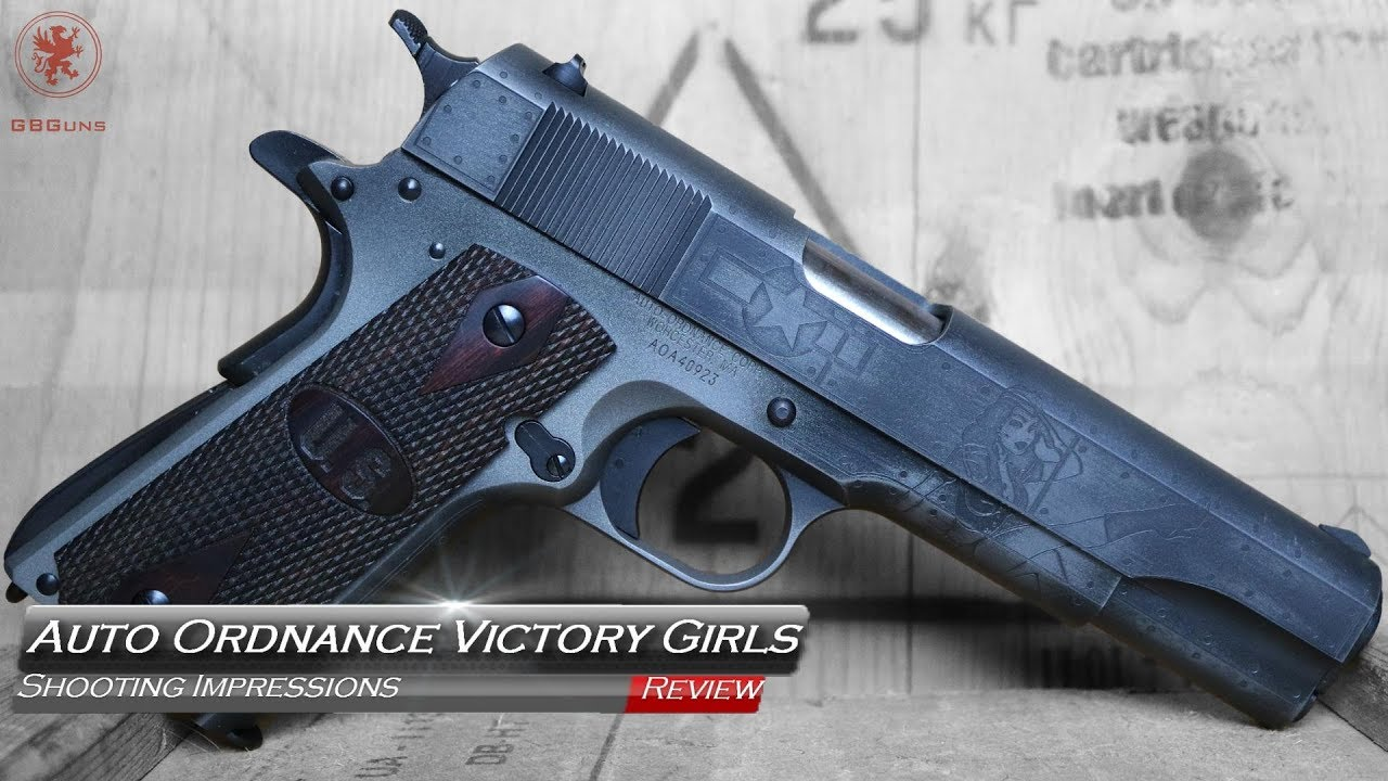 Auto Ordnance Victory Girls 1911 Shooting Impressions