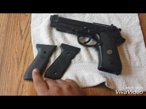 Beretta 92A1 Wilson Combat ULTRA THIN grips