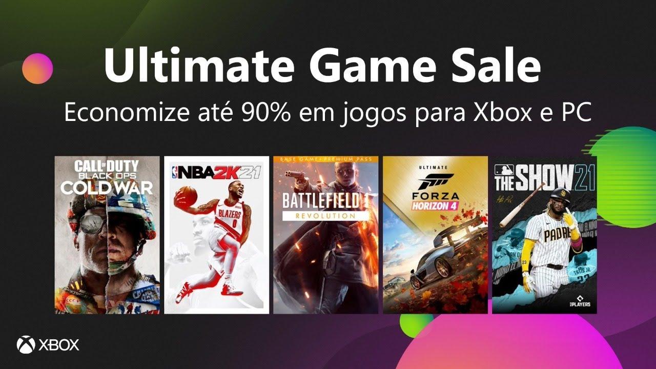 AO VIVO: Ultimate Game Sale: Mais de 650 jogos com Super Descontos