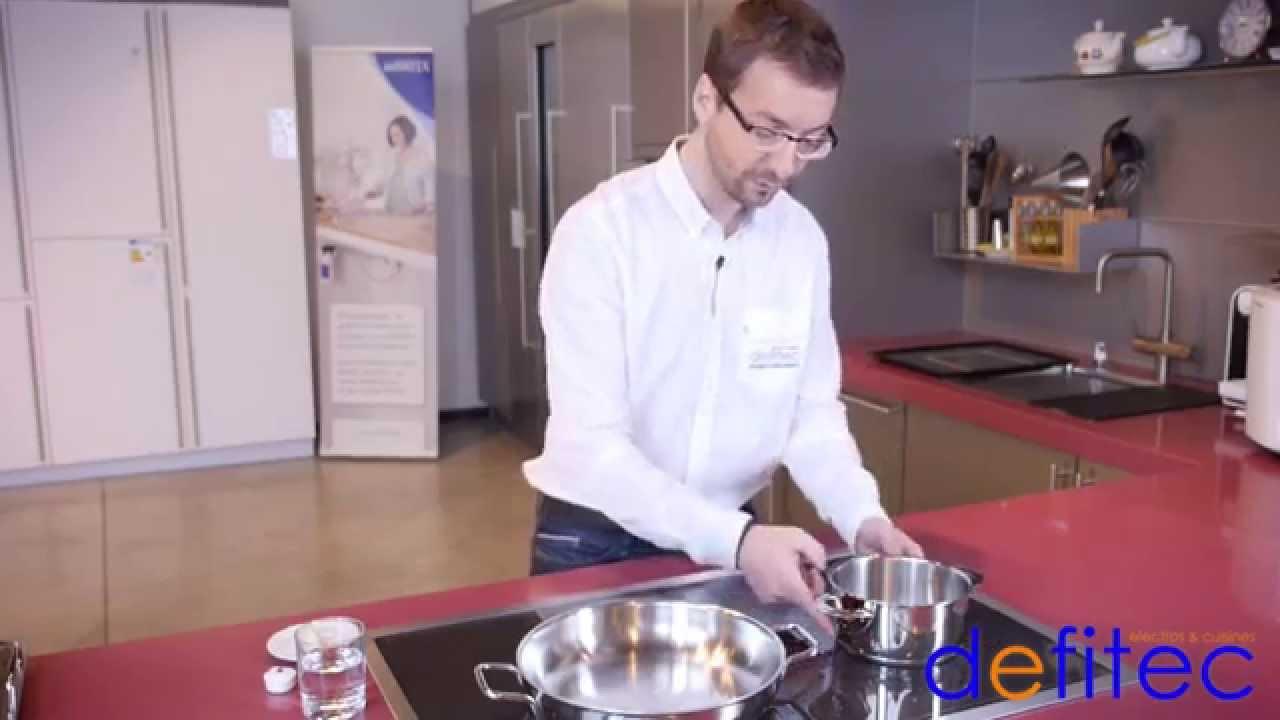 Cuisson Induction Avantages Inconvénients thomas vous présente la taque de cuisson induction gaggenau - electros et  cuisines defitec