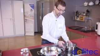 Thomas vous présente la taque de cuisson induction GAGGENAU - Electros et Cuisines DEFITEC