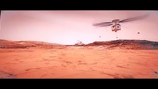 NASA's Mars Helicopter shown at Young Professionals in Space 2019, Dubai