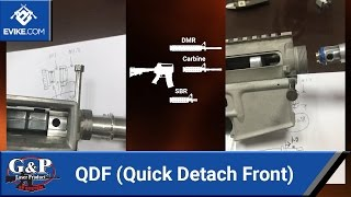 G&P QDF (Quick Detach Front) *** TEASER *** - Airsoft Evike.com