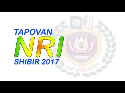Tapovan NRI Shibir 2017--Expressions by Anjal Jain & Cherry Gada USA