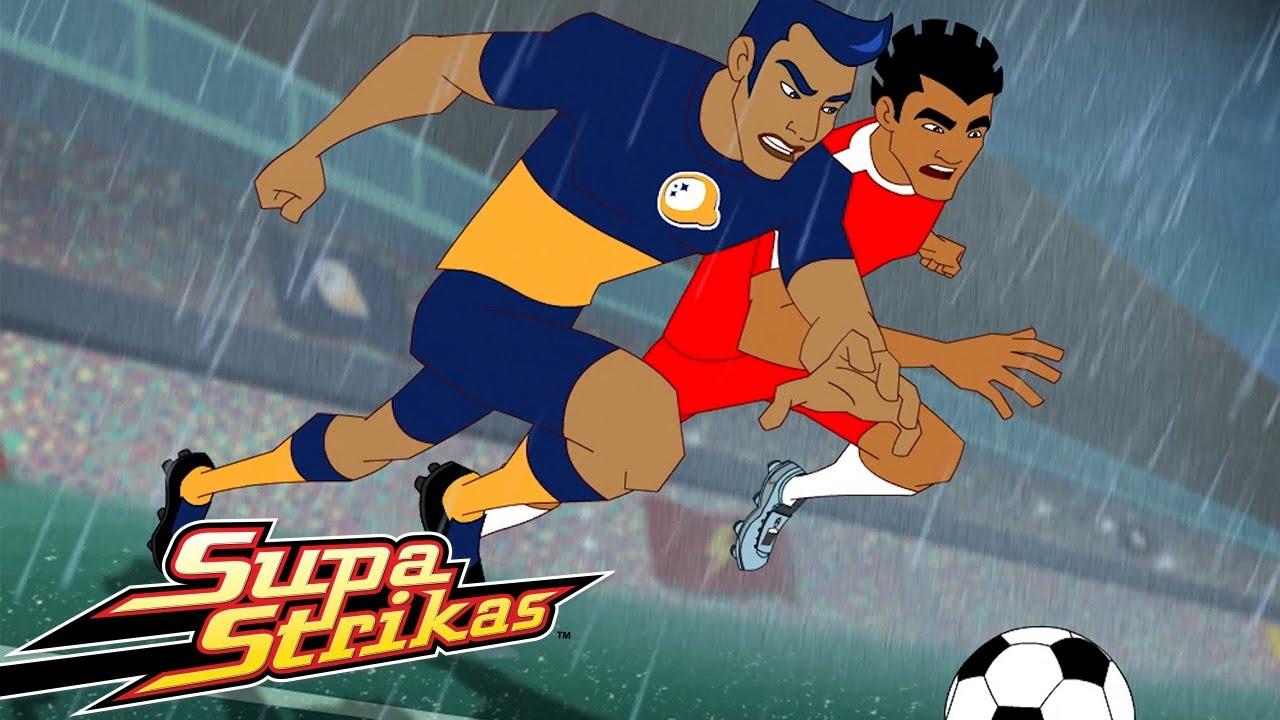 Supa Strikas - Led Pisando | Episódio Completo | Desenhos Animados de Futebol
