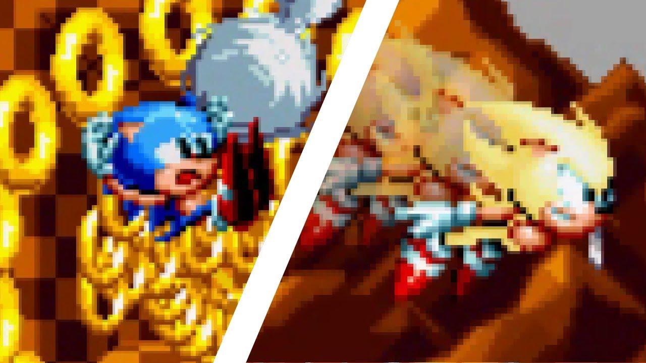 Sonic Mania Depressed | Sonic Mania Mods ⮚ Gameplay by Motidzuki