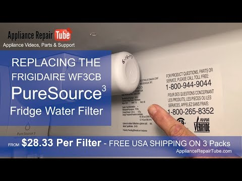 Frigidaire WF3CB PureSource Water Filter Replacement Video