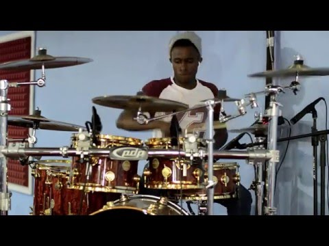 Glory(drum cover)-Marvin Sapp