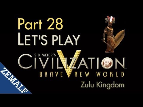 Let's Play Civ 5 BNW - Part 28 - Zulu, T331-335 [Immortal]