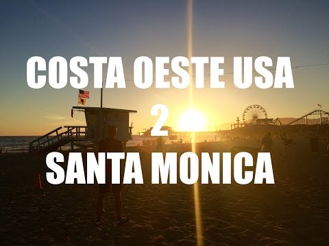 Guia de Viaje Costa Oeste USA 02 - Venice Beach y Santa Mónica - Que ver en un dia en Los Ángeles