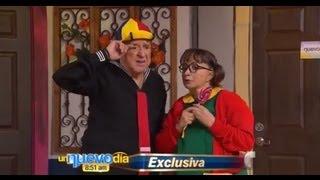 Kiko y la Chilindrina se reconcilian   Un Nuevo Día   Telemundo