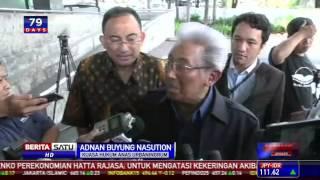 Adnan Buyung: KPK Dinilai Terlalu Dini Menahan Anas