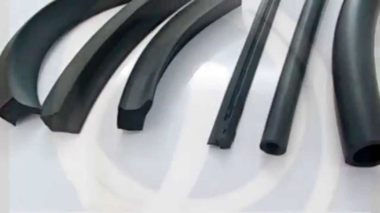 Rubber Extrusion / Rubber Profile - YouTube