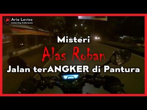 Touring Motor Lewat Alas Roban Balapan Sama Truk