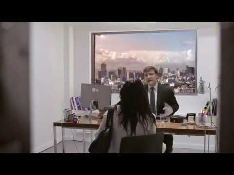 LG Ultra HD TV Prank - End Of The World Job Interview [Meteor Explodes]