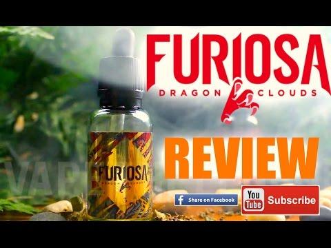 Furiosa eliquids | Lava Drops - Dragon Clouds | Review - παρουσιαση | video