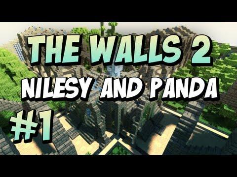Minecraft: The Walls: Nilesy & Panda: #1!
