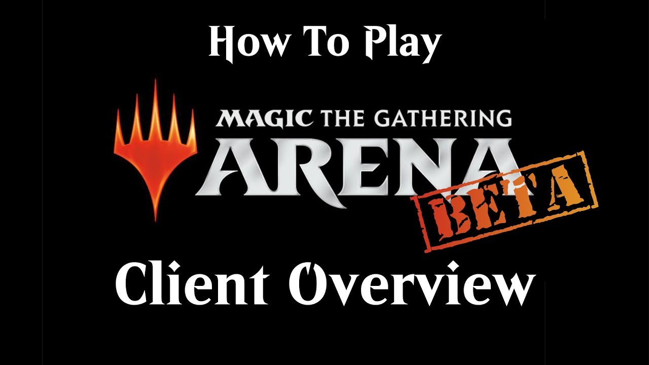 How To Play MTG Arena: Client Overview