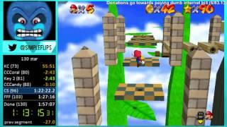 Super Mario Star Road: 130 Star World Record (1:53:29)