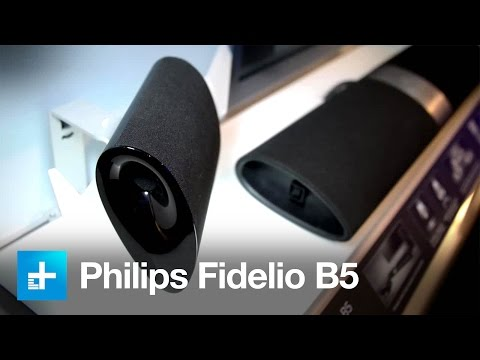 This new sound bar from Philips puts the convenience in surround sound - CES 2015