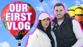 OUR FIRST VLOG | BRITTANYBEARMAKEUP