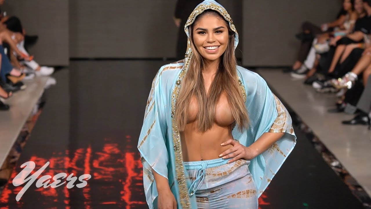 Manish Vaid Resort Wear Swimwear Fashion Show Miami Swim Week 2019 Paraiso Beach