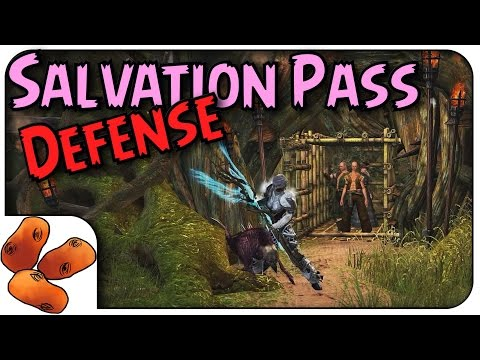 Guild Wars 2 - Bandit Fort Raid Guide | How To Clear Salvation Pass Encounter 2!