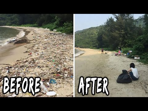 The Morning Rush - #Trashtag challenge is making the world a better place
