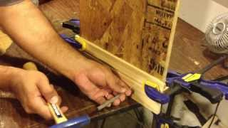 How to install a baseboard Using A Hammer and Nails