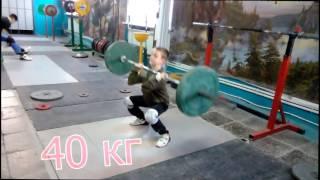 Сережа 100кг и Саша 40 кг