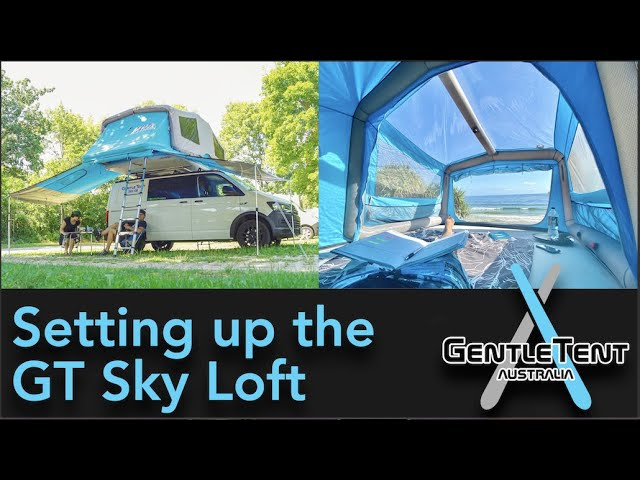 How To Set Up The Gt Skyloft Gentletent Australia Youtube